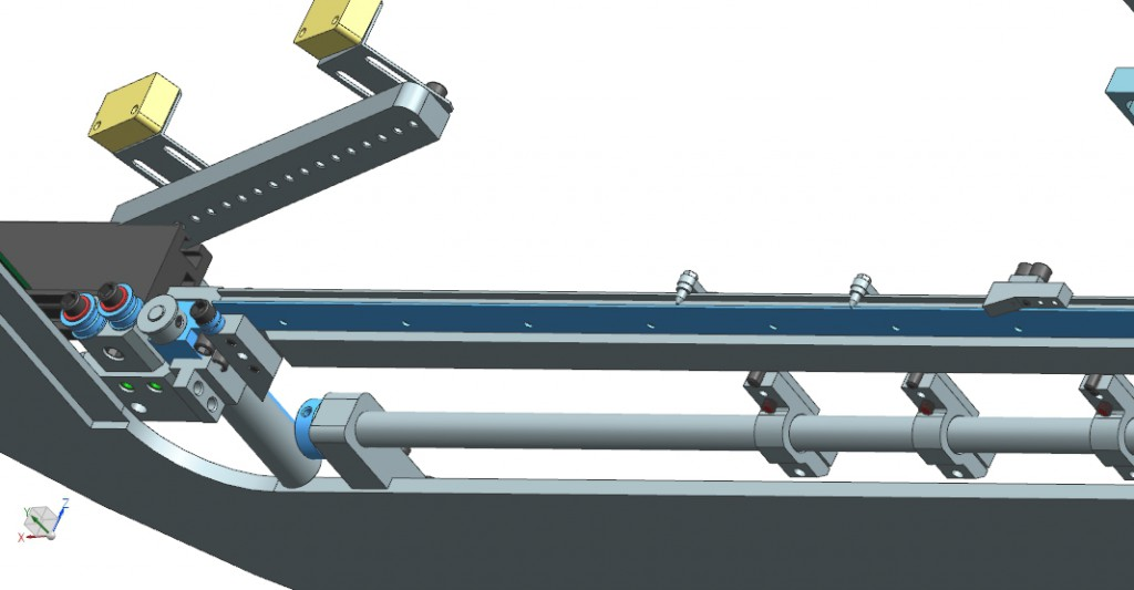 PCB Board handling system for Auto Insertion machine automatic PCB loading and unloading