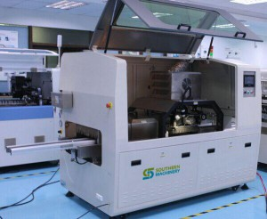 S-DS300 Automatic dip soldering machine