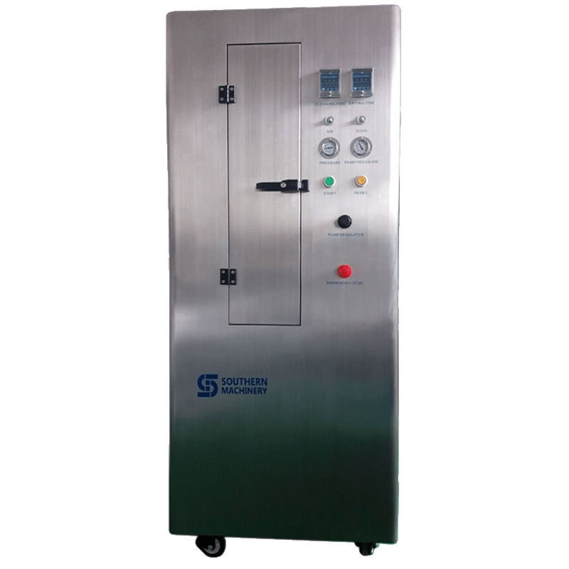 cleanser machine for