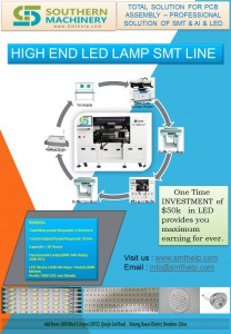 HIGH END LED LAMP SMT LINE