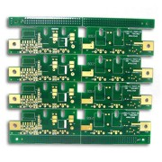 Double-sided PCBs with 4oz Copper Minimum Line Width &Spacing 0.1mm