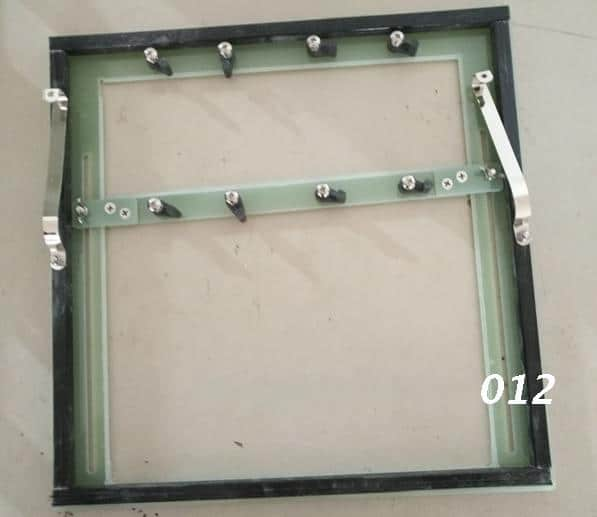 Wave soldering tray 3