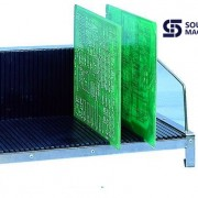 S6603 ESD SMT  Anti-static PCB magazine rack (8)
