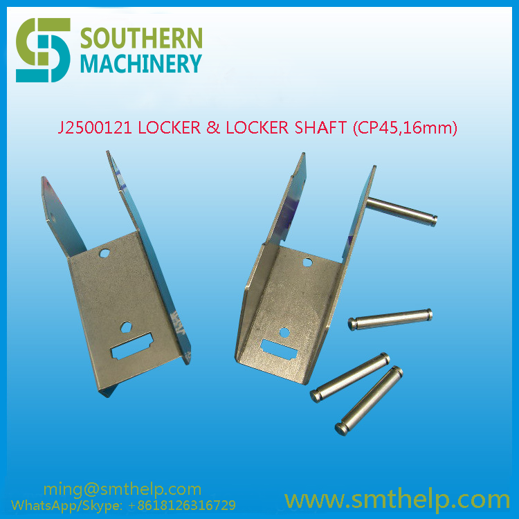 J2500121 LOCKER & LOCKER SHAFT (CP45,16mm) Samsung smt spare parts