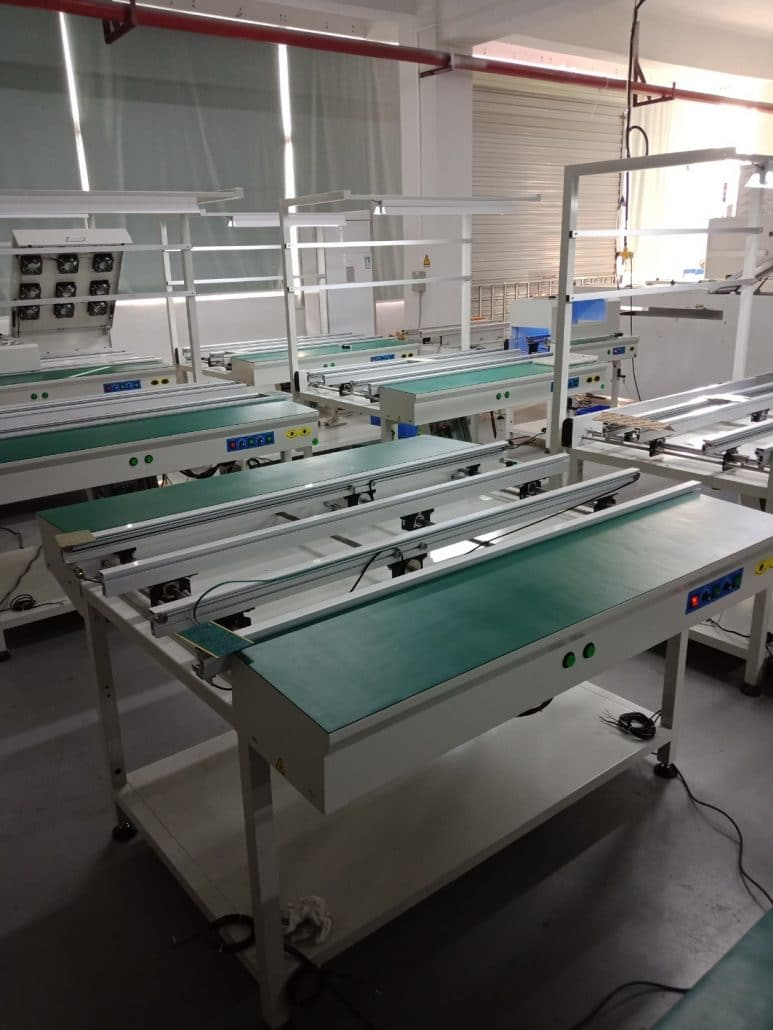 PCB Conveyor with Table