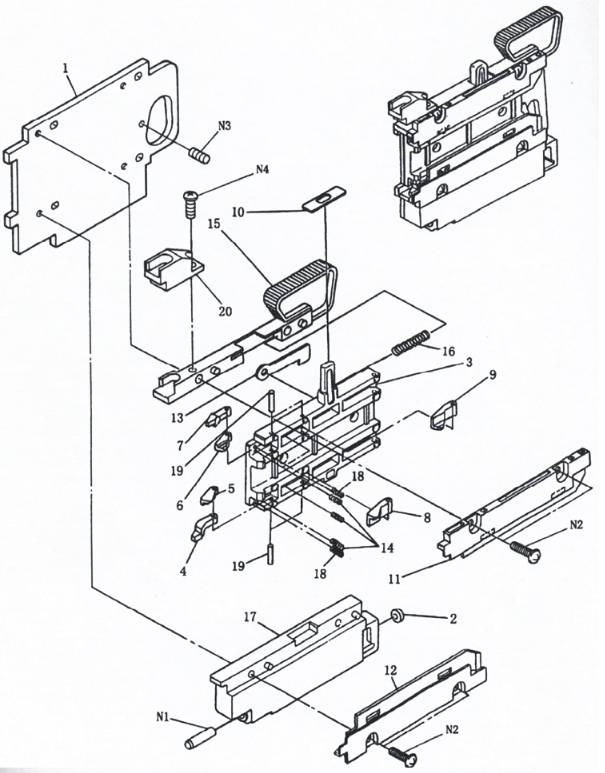 1046933000-COMPONENT-FEEDER-AI-SPARE-PART-Drawing