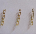 SMT Splicing Tool --Embossed Feeder Tape - Brass Stitch and Tape Splice